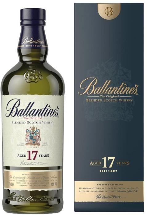 Ballantine's 17 Year Old 40% 0.7L