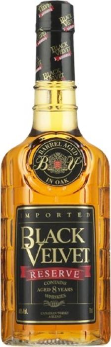 Black Velvet Reserve 8 YO Whisky 1L