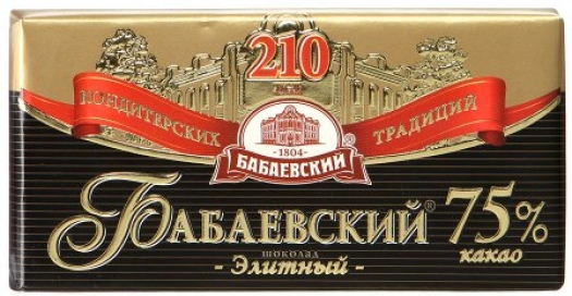 Babaevsky Elite Chocolate 100g