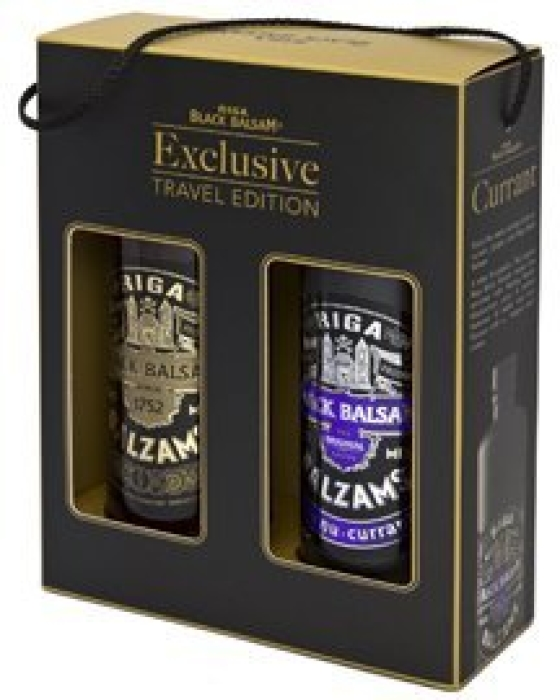 Riga Black Balsam Travel Edition Black&Purple Twinpack 2х0.5L