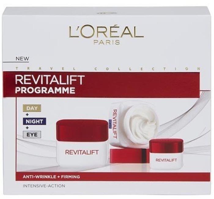 L'Oreal Revitalift Programme Set 50ml+50ml+15ml