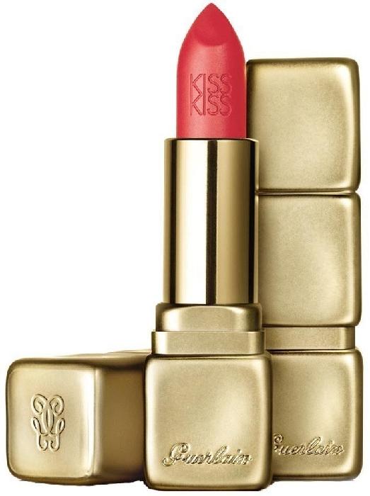 Guerlain Kiss Matte N348 Hot Coral 4g
