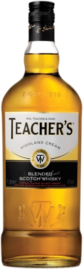 Teacher's Highland Cream 40% 1L