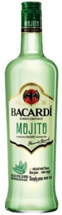 Bacardi Mojito Rum 14.9% 1L