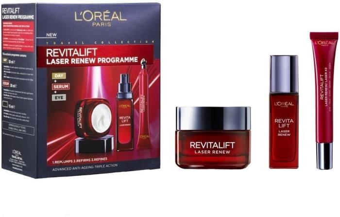 L'Oreal Revitalift Laser Programme Set 50ml+30ml+15ml