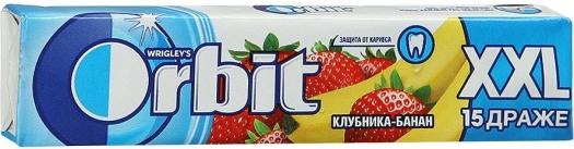 Wrigley's Orbit Strawberry-Banana XXL