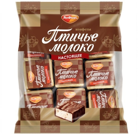 Rot Front Ptichye Moloko Chocolate Coated Souffle 225g