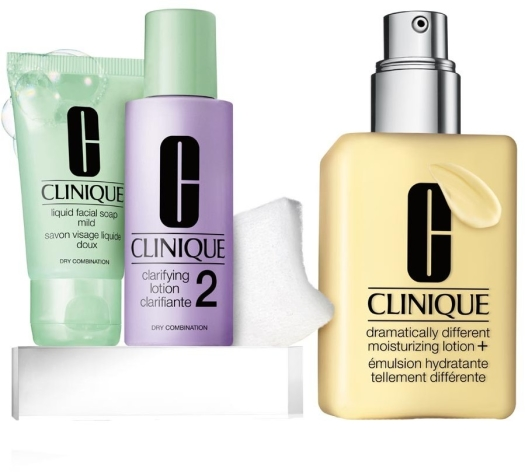 Clinique Great Skin Starts Here Type I/II Set 2x30ml+125ml