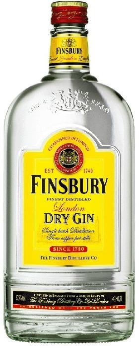 Finsbury London Dry Gin 37.5% 1L