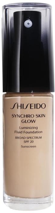 Shiseido Synchro Skin Glow Luminizing Foundation Rose 3 30ml