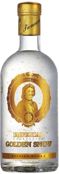Lagoda Imperial Collection Golden Snow Vodka 40% 0.7L