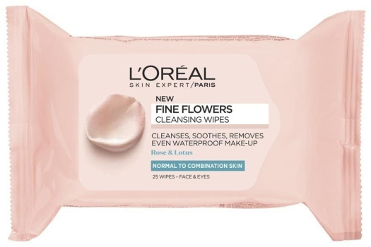 L'Oreal Fine Flowers Cosmetic Wipes 50g