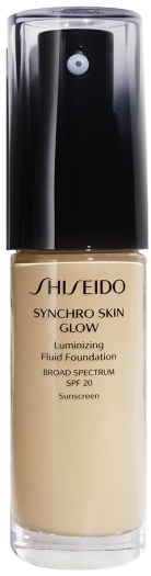 Shiseido Synchro Skin Glow Luminizing Foundation Golden 3 30ml