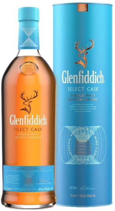 Glenfiddich Select Cask Collection Tub 1L