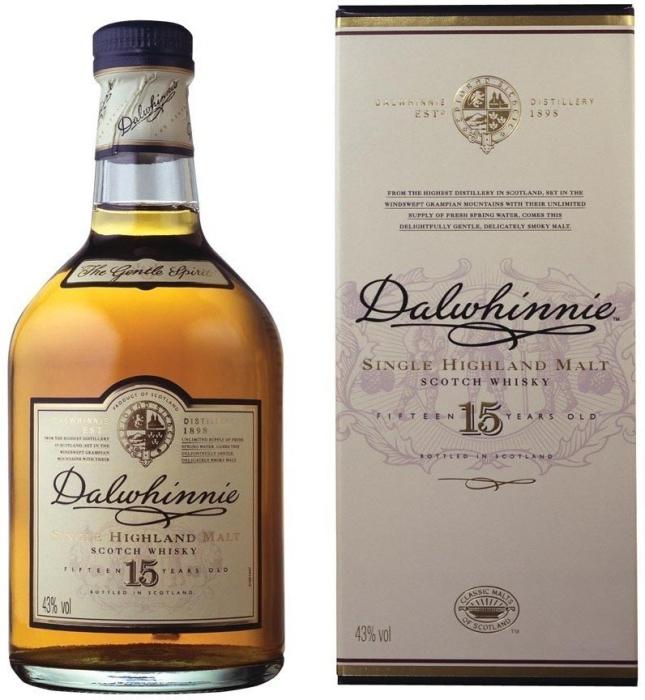 Dalwhinnie 15 YO Whiskey 1L