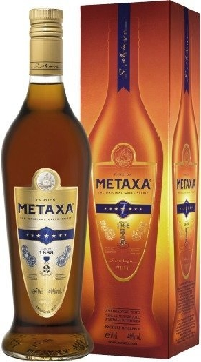 Metaxa Amphora 7* 40% 1L