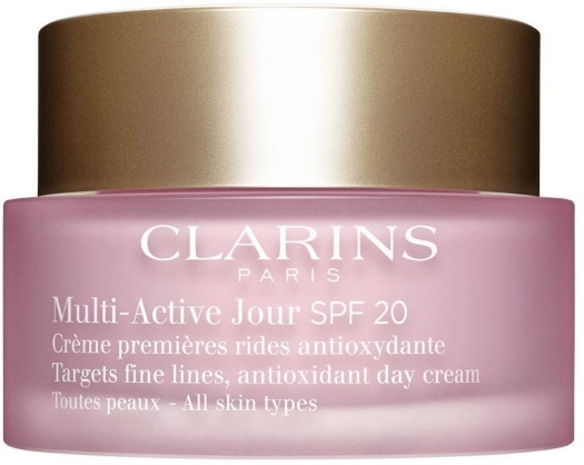 Clarins Multi Active Day Cream All Skin Types SPF 20 50ml