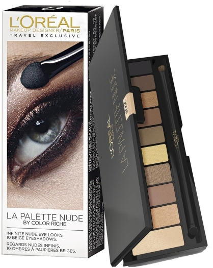 L'Oreal Color Riche La Palette Nude Set 7g