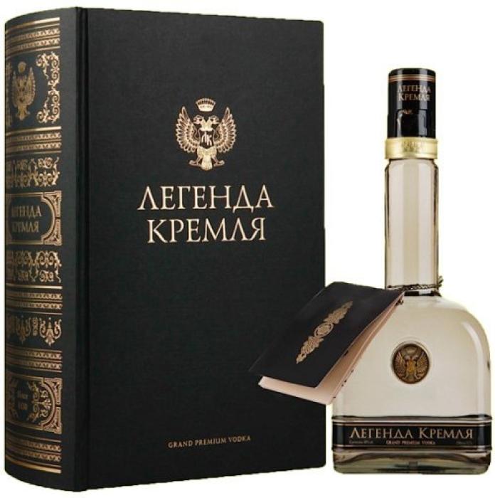 Legend of Kremlin Vodka Folio 1L
