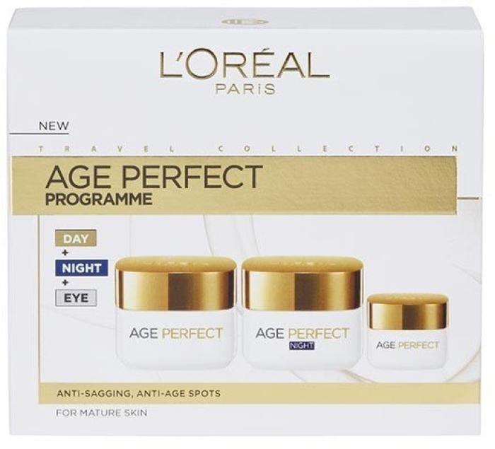 L'Oreal Age Perfect Program Set 50ml+50ml+15ml