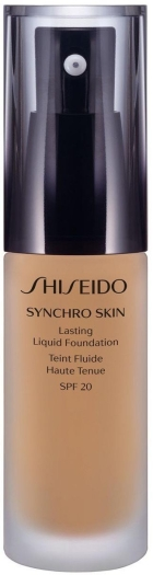 Shiseido Synchro Skin Lasting Liquid Foundation N3 Golden 30ml