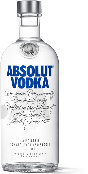 Absolut Blue Vodka 0.5L