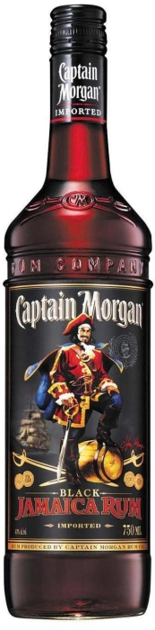 Captain Morgan Black Label 1L