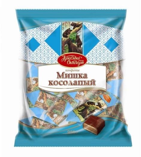 Krasny Oktyabr Mishka Kosolapiy Chocolate Sweets 250g