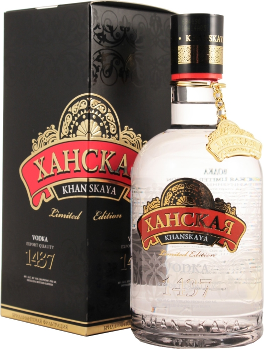 Khanskaya Limited Edition Vodka 0.5L