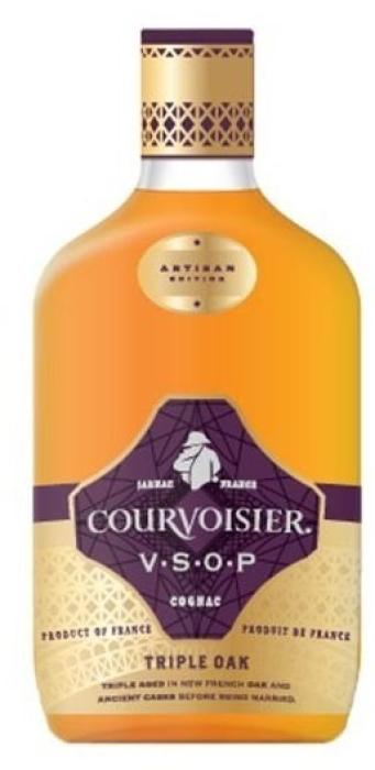 Courvoisier Artisan VSOP Triple Oak 40% 0.5L