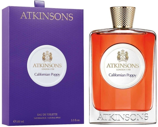 Atkinsons Californian Poppy EdT 100ml