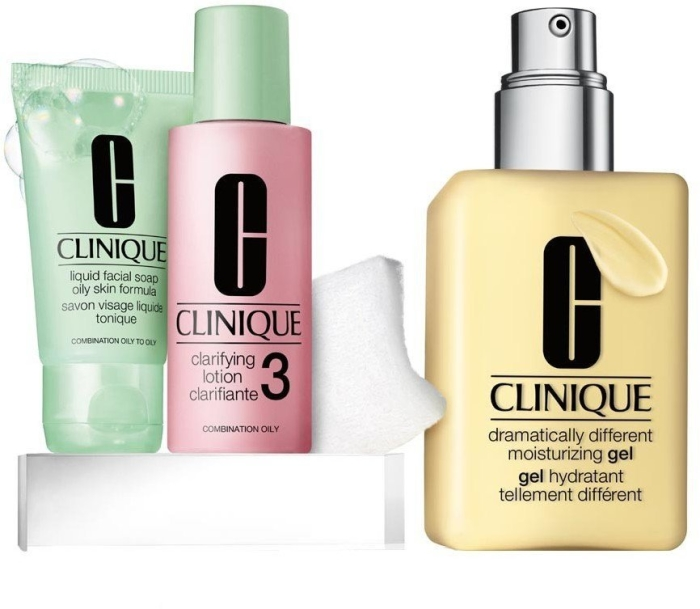 Clinique Great Skin Starts Here Type III/IV Set 2x30ml+125ml