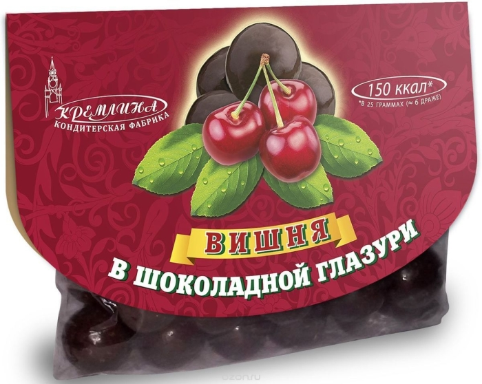 Kremlina Cherry In Chocolate Eyeglass Case 40G
