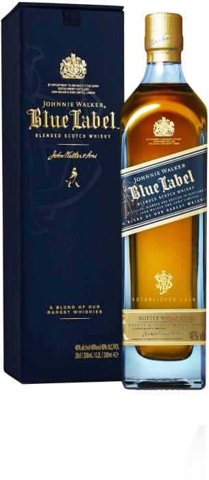 Johnnie Walker Blue Label Whisky 0.2L