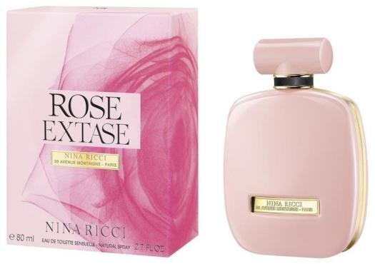 Nina Ricci Rose L'Extase Eau de Toilette Sensuelle EdT 80ml