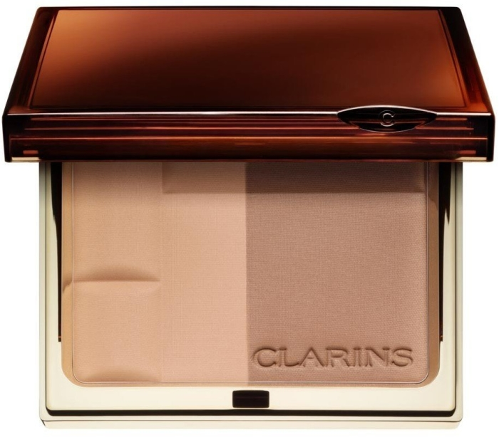 Clarins Bronzing Duo SPF 15 Mineral Powder Compact N1 Light 10g