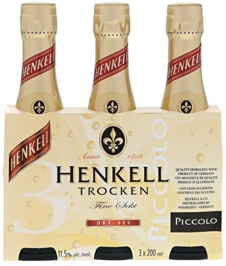 Henkell Trocken Piccolo 3х0.2L