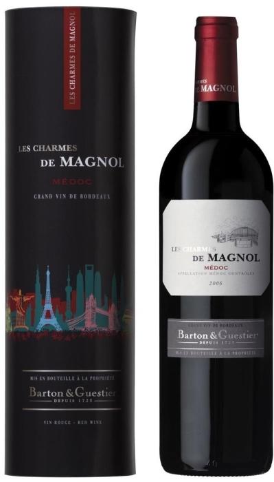 Barton&Guestier Les Charmes de Magnol Medoc AOC Dry Red 0.75L