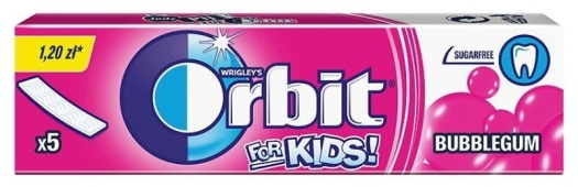 Wrigley's Orbit For Kids The Classic Gum