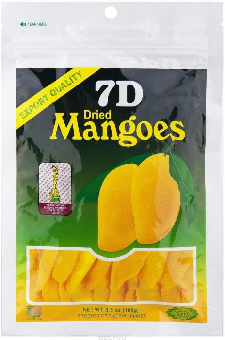 7D Dried Mango 100g