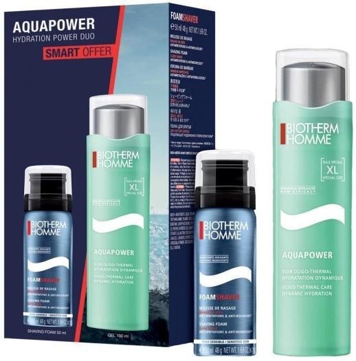 Biotherm Homme Aquapower Set 100+50ml