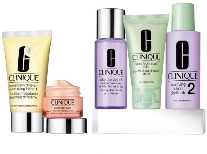 Clinique Daily Essentials Dry Combination Set