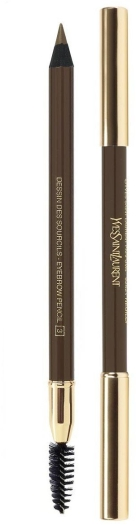 Yves Saint Laurent Dessin de Sourcils Eyebrow Pencil N03glazed Brown 1.3g