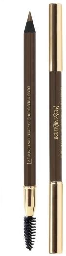 Yves Saint Laurent Dessin de Sourcils Eyebrow Pencil N03glazed Brown 1.3g