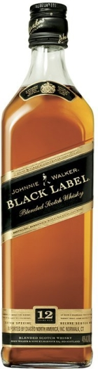 Johnnie Walker Black Label 12 YO 0.5L
