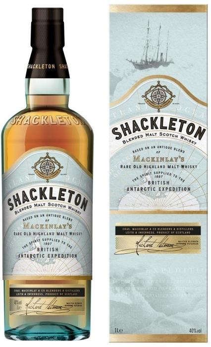 Shackleton Blended Malt Whiskey 40% 1L