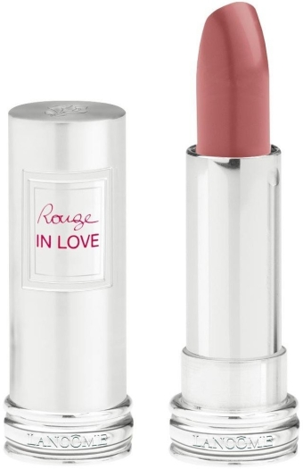 Lancome Rouge in Love Lipstick N300M Beige Dentelle (Pink) 4ml