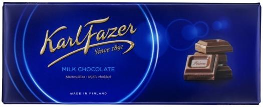 Faustino Karl Fazer Milk Chocolate 250g