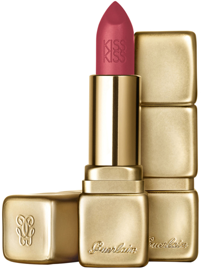 Guerlain Kiss Matte No. 375 Flaming Rose
