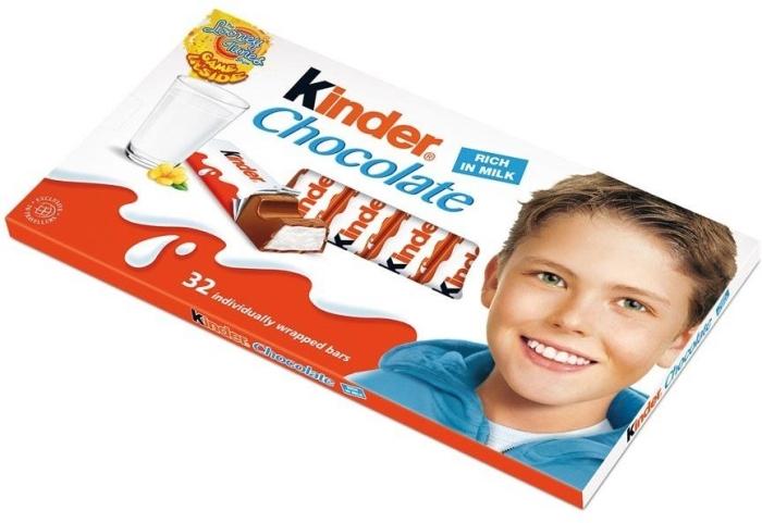 Kinder Chocolate 4х100g